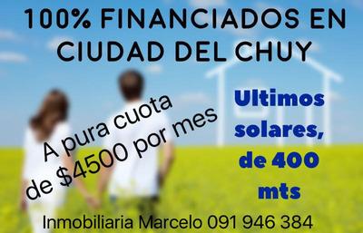 Terrenos 100 % Financiados En Ciudad Del Chuy