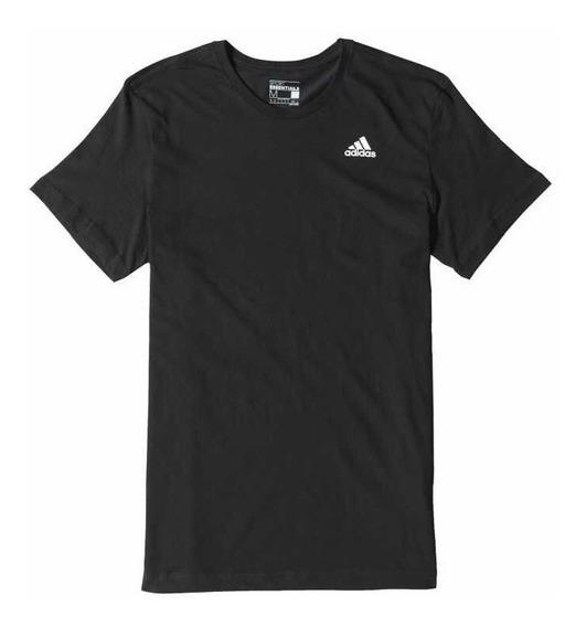 Remera adidas T Shirt Ess Tee Negra Del S Al Xl