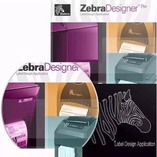 Pro2 Diseñador Codigos De Barra Zebra Software Designer