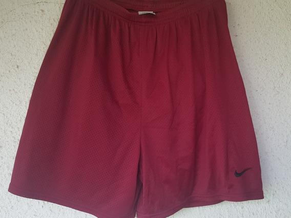 Short Nike Bordó P Hombre.tipo Basquetbol. T.xl.un Uso.