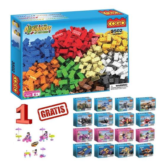 Cogo Bloques Libre Construccion Didactico Comp Lego St