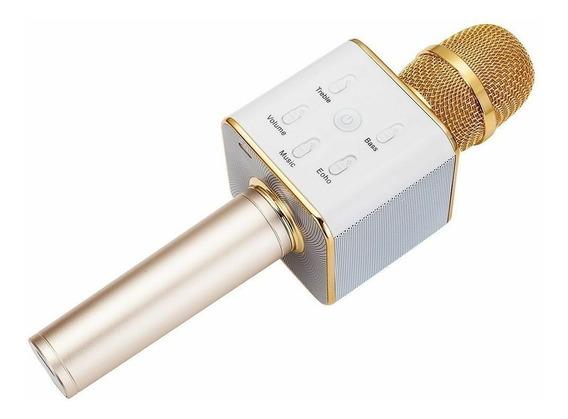 Micrófono Karaoke Bluetooth Con Potente Parlante Incluido
