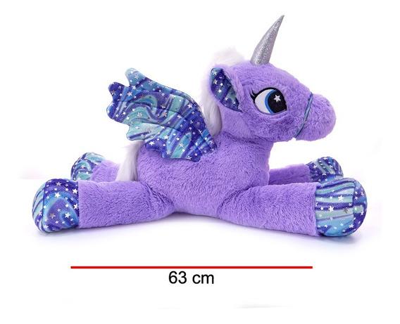 Phi Phi Unicornio Acostado 65 Cm 200398 Flaber