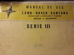 Land Rover Santana Manual Santana .