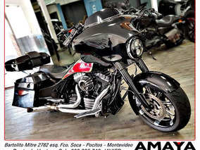 Amaya Garage Harley Davidson Street Glide Bagger 2012