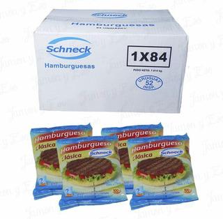 Hamburguesas Schneck Con Tortugas De Regalo