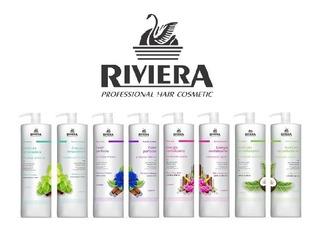 Pack Shampoo, Acondicionador Riviera Sin Sal 1lt.