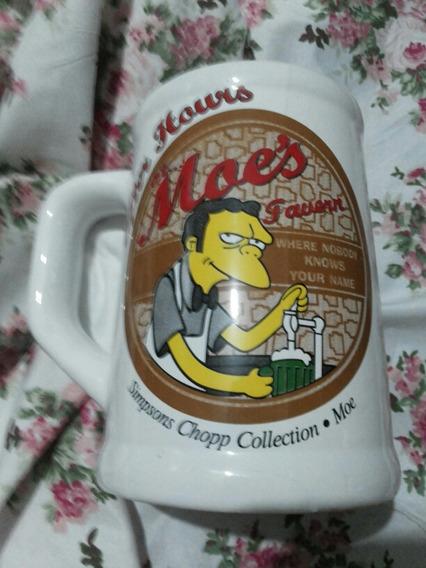 Jarra De Cerveza De Colección Moes De Los Simpson.