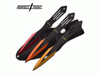 Set Con 3 Cuchillos Para Lanzar Perfect Point