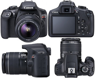 Camara Foto Canon T6 + 18-55mm + Garantia - 18mp Wifi Nfc