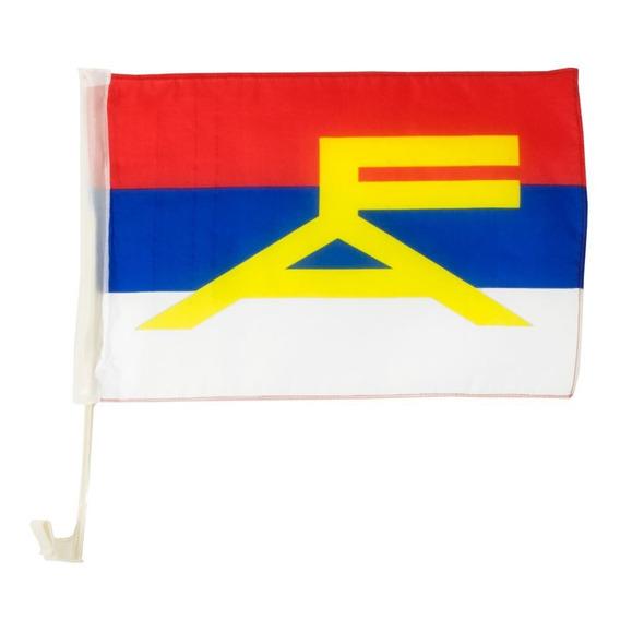 Bandera Del Frente Amplio Fa Auto 50x $18c/u Disershop