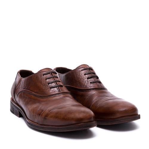 beec4453 Zapato Oxford De Cuero - Calzado Masculino Marca Capita