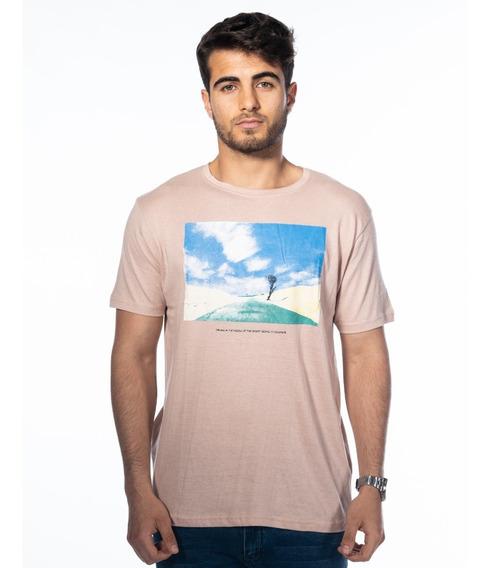Remera Camiseta Hombre Estampada Algodon / Turk Desert 003