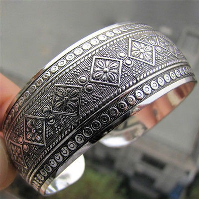 sitio web para descuento sin impuesto de venta gran variedad de estilos Antic Plateado Tibetano Tibet Totem Pulsera Joyería Pulsera