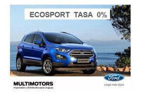 Ford Ecosport 1.5 Se Mt U$s23.990 - Se At U$s25.990