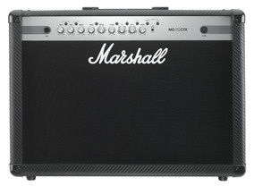 Amplificador Guitarra Marshall 100w 2x12 - Mg102cfx