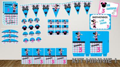 Kit Imprimible Minnie