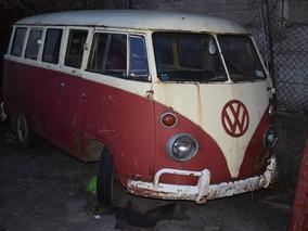 Volkswagen Kombi 15 Vidrios-1965- Brasilera-