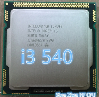 Procesador Core I3 -540 Socket 1156 - Impecable