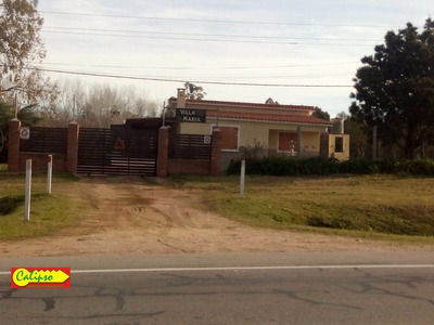 Ruta 11 - Casa 2 Dorm Y Local De 400m2 -inmobiliaria Calipso