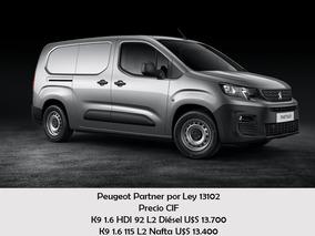 Peugeot Partner Para Personas Con Discapacidad. Ley 13102