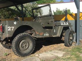 Willys Jeep Cj 2 A - Año 1949