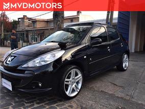 !! Peugeot 207 Compact Black And Silver Permuto Financio !!