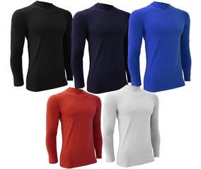 Remera Polera Térmica M/ Larga Camiseta Futbol Running