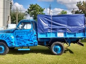 Camioneta Estudebaker 1956 Inmaculada