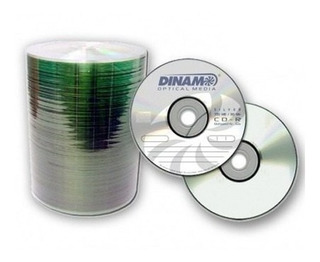 Pack De 100 Cd Virgen Dinam 80min 52x 700mb Super Oferta!!