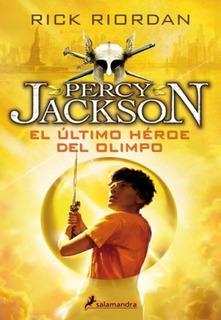 Libro: Percy Jackson 5 El Último Héroe Del Olimpo - Riordan