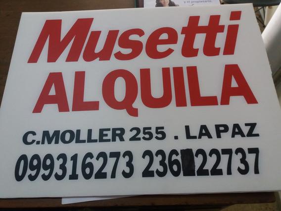 Musetti Alquila: Apto. De 2 Dormitorios En La Paz.-