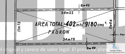Se Vende Parking - Terreno 402 M2 (centro De Montevideo)