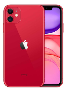 iPhone 11 Rojo 128gb Con Vidrio Y Funda