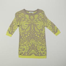 Sweater Mariposa Amarillo Swbell45/27 Tienda Oficial