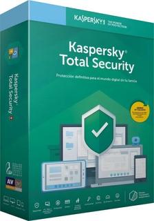 Antivirus Kaspersky Total Security 2019 1 Pc X 1 Ano Origina