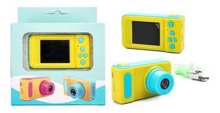 Cámara Digital Fotografica Infantil Pantalla 2 Niños