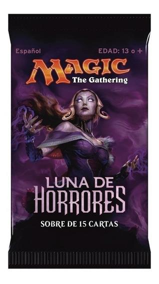 Magic The Gathering - Luna De Horrores Booster Español