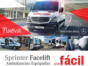 Mercedes Benz Sprinter 415 Ambulancia 2019 Equipada
