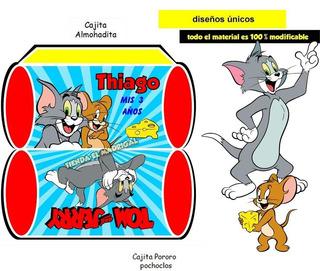 Tarjetas De Invitacion Cumpleaños Tom Y Jerry Corrado En