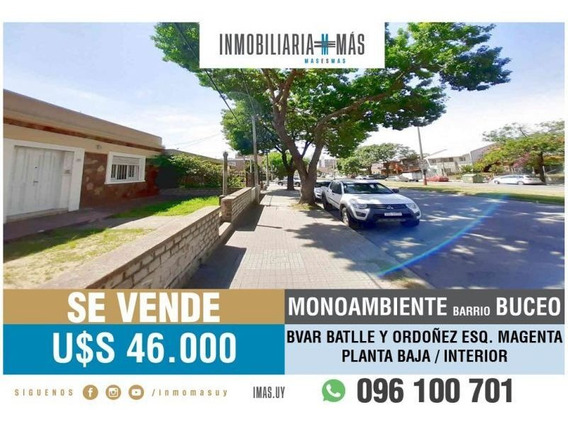 Apartamento Monoambiente Venta Buceo Montevideo Imas.uy L *