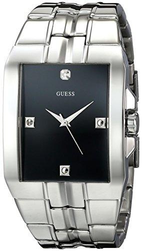 U10014g1 Silver Tone Dressy Reloj Guess Mens CoQrxdBeW
