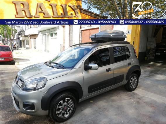 Fiat Uno Evo Way 2016 Entrega U$s 5500 Financia Sola Firma