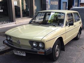 Volkswagen Brasilia 1.6 -excelente Estado- 100% Original !!