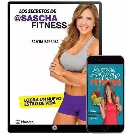 Los Secretos De Sascha Fitness Colección 15 Libros - Regalo