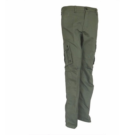 Pantalon Pampero Cargo Piel Durazno Verde