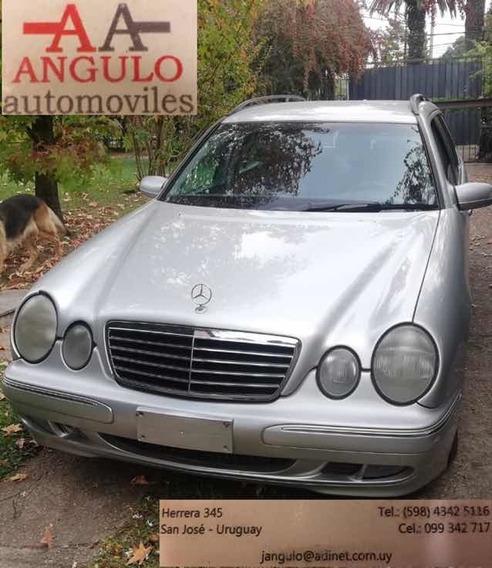 Mercedes-benz Clase E 3.2 E320 Cdi Elegance Plus At 2001