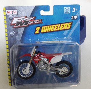 Moto Honda Cross Colección Maisto Fresh Metal 2 Wheelers