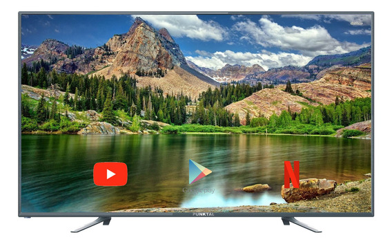 Smart Tv Televisor Punktal 40` Fullhd Android 7.0 Isdb-t Amv