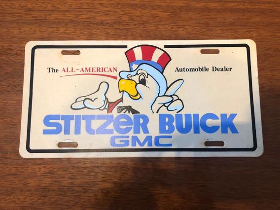 Matricula De Auto Estados Unidos Usa Concesionario Buick Gmc